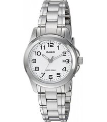 reloj casio caballero elegante mtp-1215a-7b2 color plateado