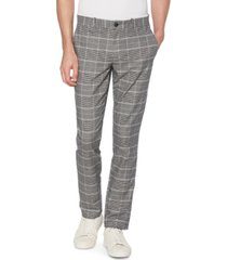 original penguin men's slim-fit plaid pants