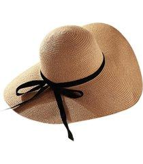 chapéu artestore aba larga bege caramelo