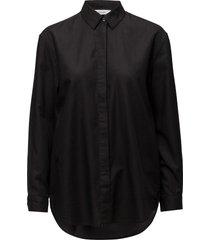 caico shirt 2634 långärmad skjorta svart samsøe samsøe