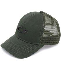 boné oakley trucker ellipse hat new dark green