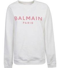 balmain classic logo sweatshirt