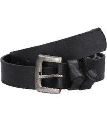 cinturón cuero básico negro panama jack