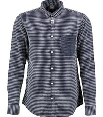 jack & jones slim fit reliëf overhemd