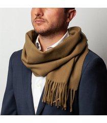 sciarpa da uomo, maalbi, beige tinta unita, autunno inverno | lanieri