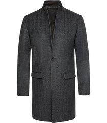 'merton' single-vented coat