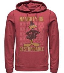men's looney tunes daffy hoodie