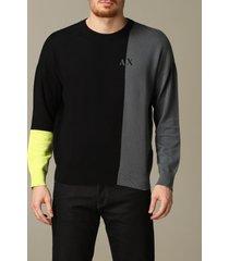 armani exchange sweater armani exchange crew neck sweater with logo