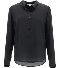 stella mccartney eva silk shirt