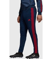 pantalón de buzo adidas performance afc tr pnt azul - calce regular