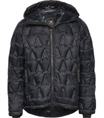 element down parka fodrad jacka svart mountain works