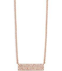 14k gold & natural diamond pendant necklace