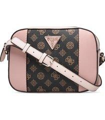 kamryn crossbody top zip bags small shoulder bags - crossbody bags rosa guess