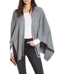 women's rebecca minkoff milano cape, size one size - grey
