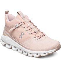 cloud hi monocrome höga sneakers rosa on