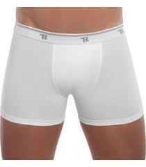 kit 2 cuecas trifil boxer em algodão sem costura lateral masculino - masculino
