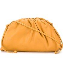 bottega veneta the mini pouch bag - orange