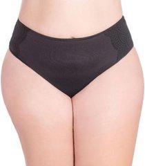 calcinha econfort tanga em tecido duplo feminina - feminino