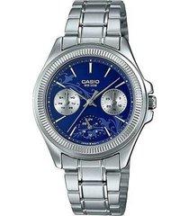 ltp-2088d-2a1 reloj multicalendario para dama 100% original