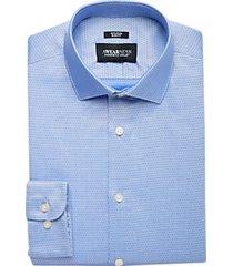 awearness kenneth cole light blue diamond slim fit dress shirt