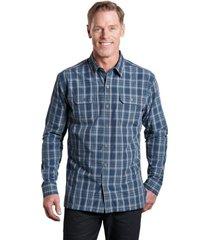 camisa response ls azul oscuro kuhl