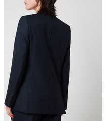 ami women's two buttons jacket - navy - s
