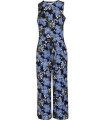 michael michael kors multicolor cotton jumpsuit