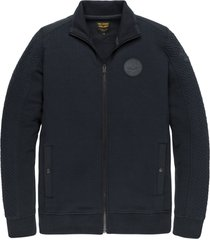 pme legend psw205406 5288 zip jacket structure sweat blue
