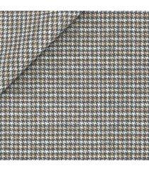 pantaloni da uomo su misura, lanificio ermenegildo zegna, pied de poule lana seta 4 stagioni, quattro stagioni