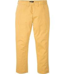 pantaloni chino regular fit straight (arancione) - bpc bonprix collection