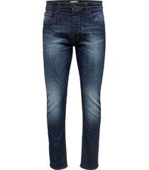 slim fit jeans weft dark blue