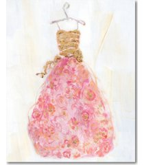 """courtside market ball gown ii 20"""" x 24"""" gallery-wrapped canvas wall art"""