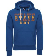 superdry men's track and field classic hoodie