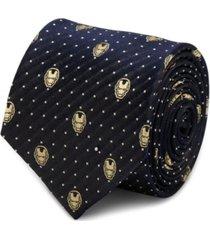 marvel iron man dot men's tie