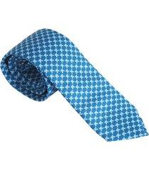 corbata hombre jaguar azul claro