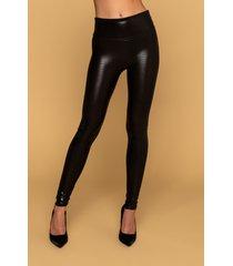 akira spanx faux leather croc shine leggings