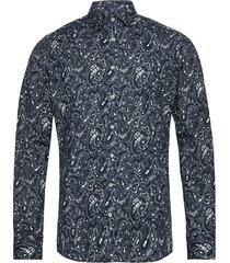 8606 - iver skjorta casual blå sand