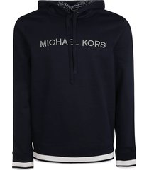 michael kors embroidered logo hoodie