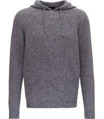 roberto collina woolen hoodie