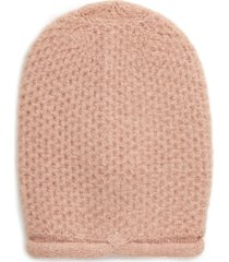 women's free people dreamland knit beanie - pink
