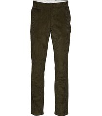 chuck 8 wales corduroy chinos - got chino broek groen knowledge cotton apparel