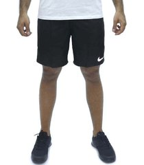 pantaloneta negro nike run short 7in