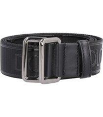 dolce & gabbana adjustable logoed belt