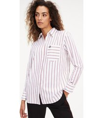 blusa regular lineas bicolor tommy hilfiger