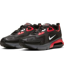 8-zapatillas de hombre nike air max 200-negro