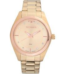 relógio technos 2035mkw/4x dourado