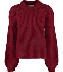 michael michael kors long-sleeved crew-neck sweater