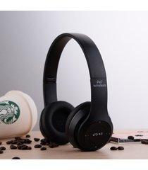 audífonos bluetooth manos llibres inalámbricos, p47 auricular sin hilos de audifonos bluetooth manos libres  auriculares auriculares dre (negro)