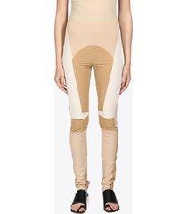mm6 maison margiela patchwork leggings