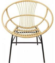 krzesło fotel rattanowy iv